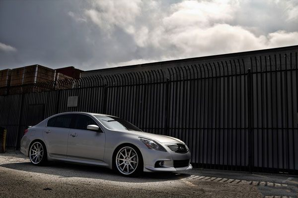 20 honda accord sedan concept one cs10 concave silver staggered wheels
