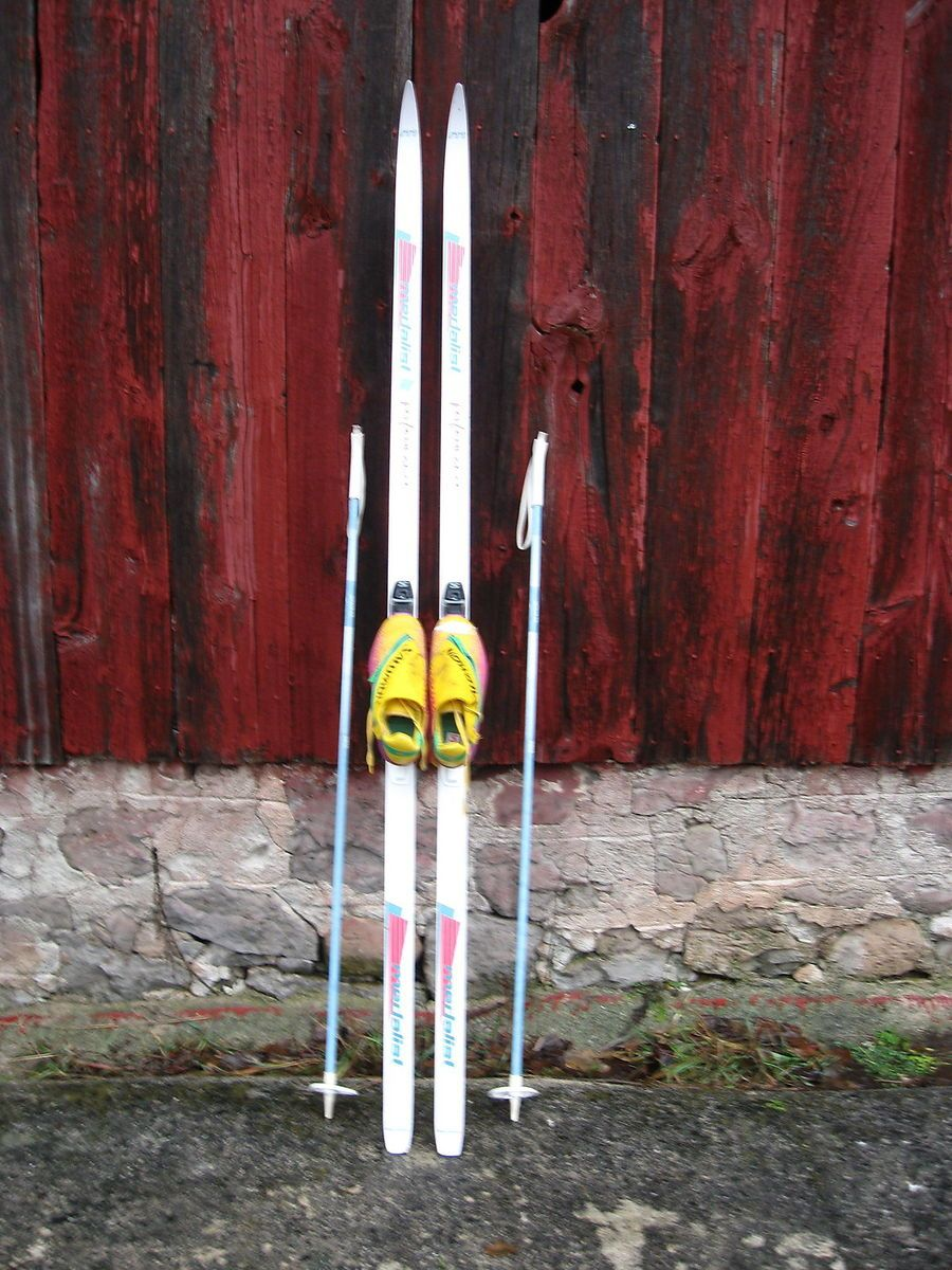 Cross Country Skis Boots Poles Medalist SNS Waxless