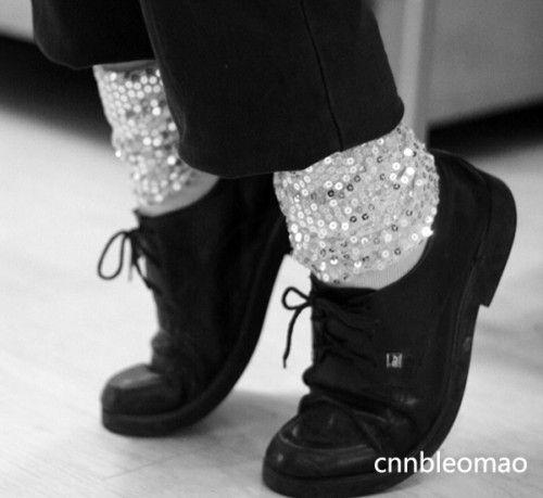 3pcs Michael Jackson MJ Billie Jean Jacket Glove Socks
