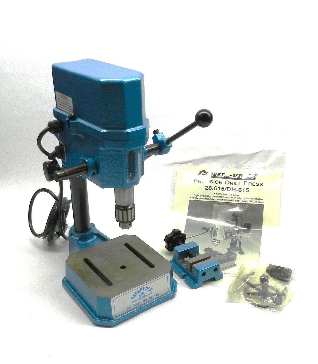 Drill Press Grobet Precision With Vise Mini 28 Circuit Board 30798550140 For Jancy Power Tool Ereplacement Parts