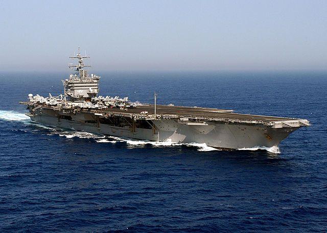 Navy USS Enterprise Carrier Strike Group CVN 65 DonT Tread on Me