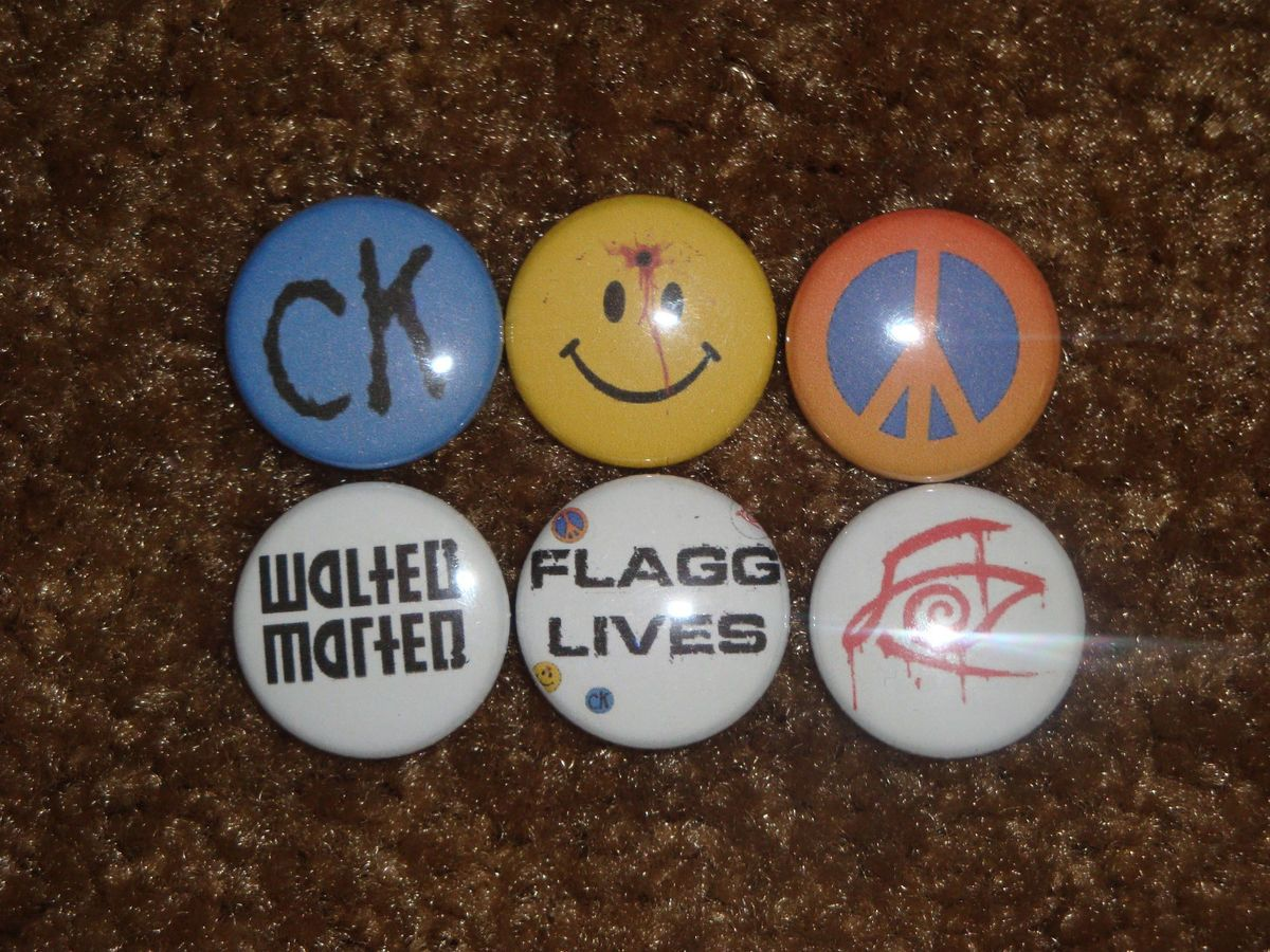 Randall Flagg The Man in Black Buttons Pins Badges Dark Tower Stephen