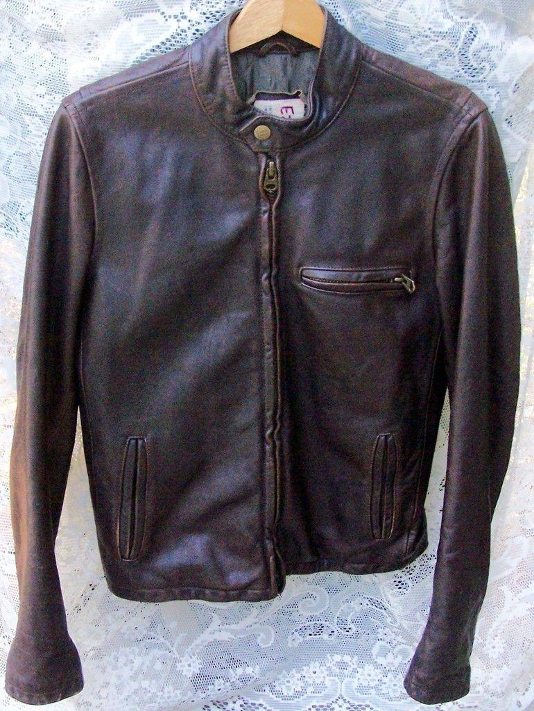 Ezra fitch leather jacket