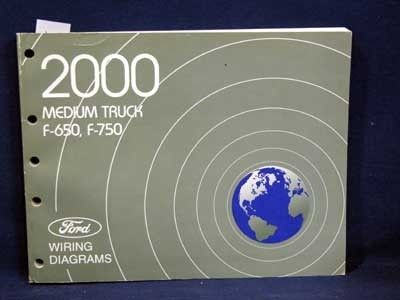 2000 Ford Medium Truck F 650 F 750 Factory Dealer Wiring Diagrams Wiring Diagram Ford F on ford f-350 fire truck, ford truck wiring diagrams, ford f750 fire truck, ford wiring harness 1957 ford f 100, ford f650 fuse box diagram,