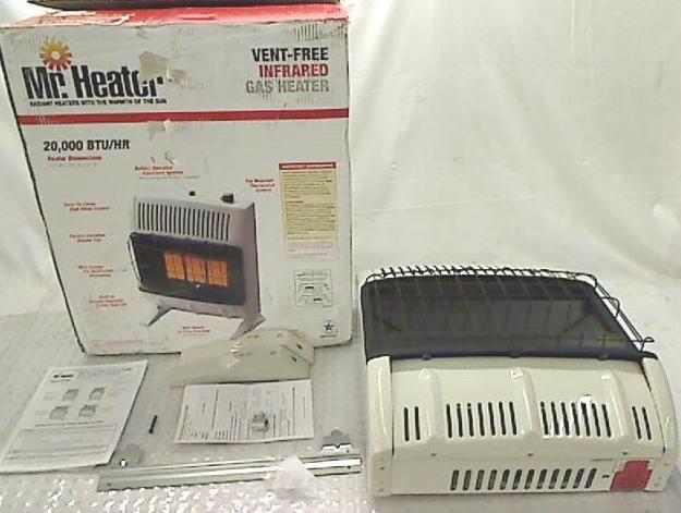 Mr Heater 20 000 BTU Propane Radiant Vent Free Heater MHVFR20TB LP