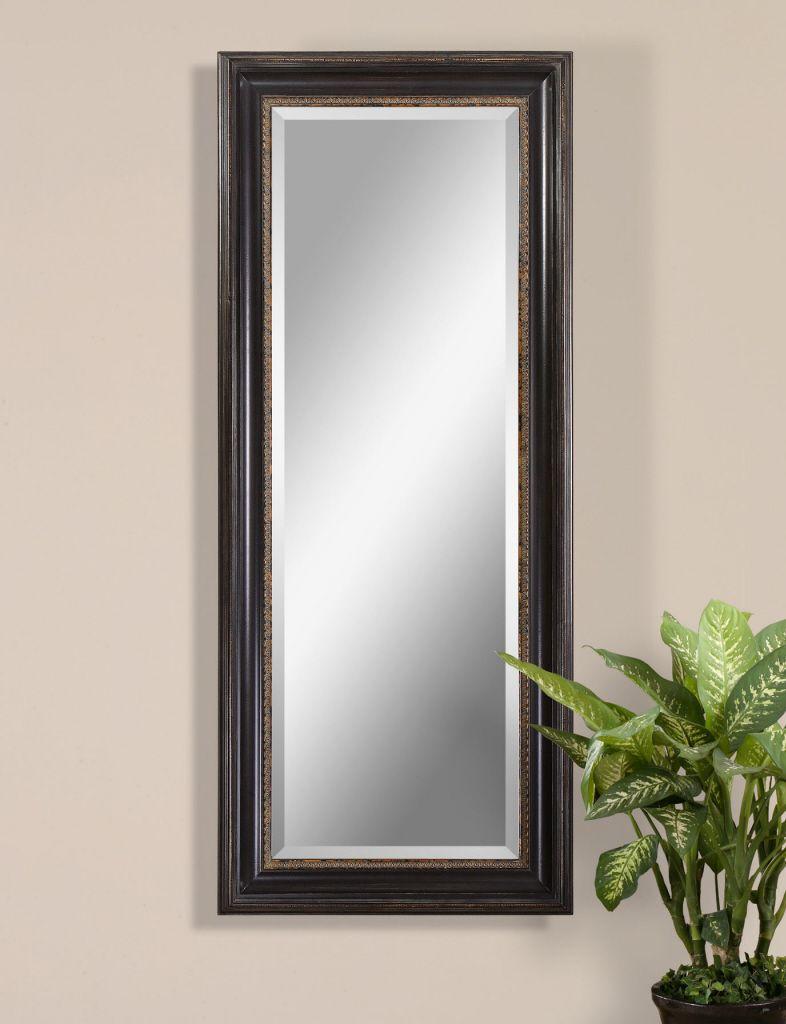 Extra Large 82 Full Length Dressing Floor Mirror Black Oversize