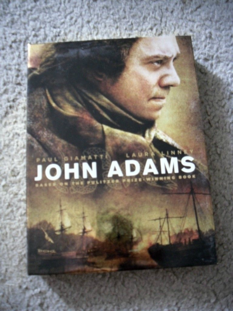 Adams Complete DVD Set HBO Miniseries Like New Paul Giamatti