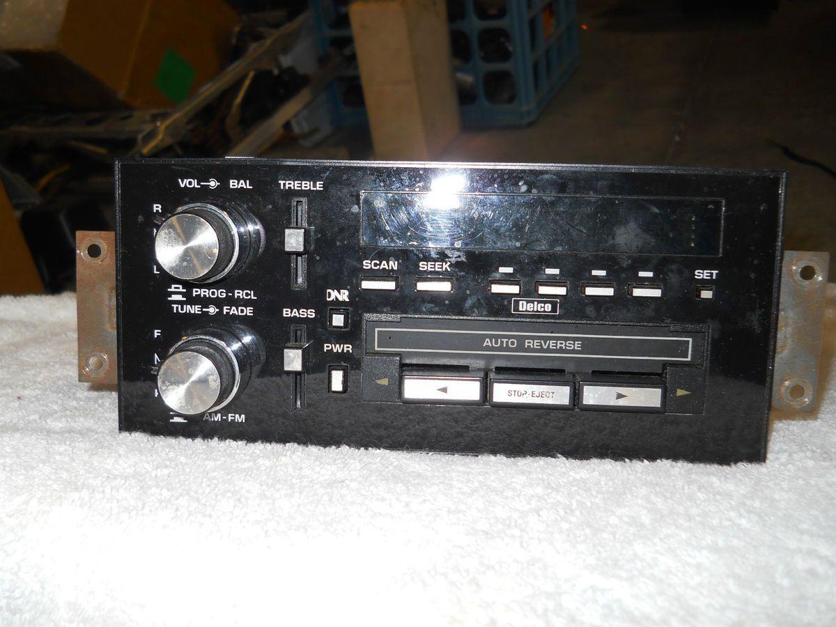 GM OEM RADIO MOUNTING BRACKETS 84 87 PONTIAC GRAND PRIX 84 92 FIREBIRD
