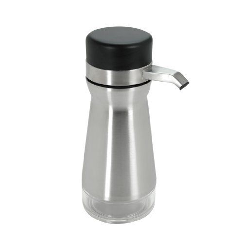 OXO Good Grips Big Button Soap or Lotion Dispenser Stainless Black