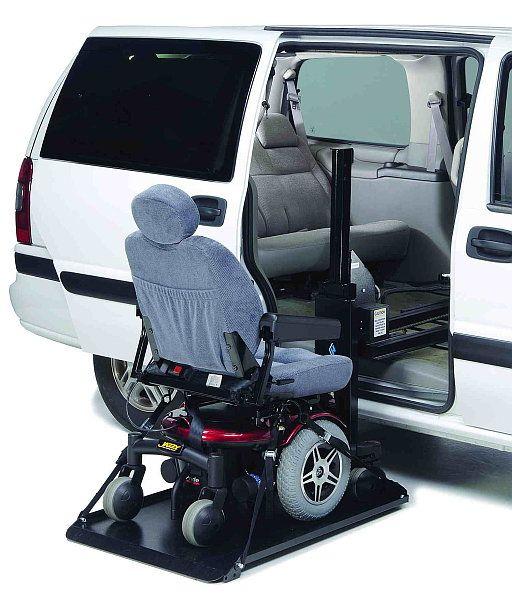 Harmar AL690 Heavy Duty Power Scooter Wheel Chair Lift