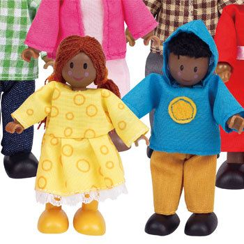 Hape Happy Family African American doll house accessory 004573
