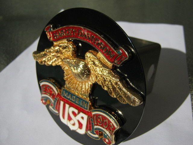 Harley Davidson Emblem Hitch Receiver Cover Eagle