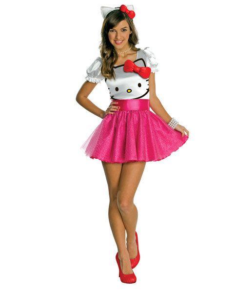 teen hello kitty tutu dress girl s costume product id