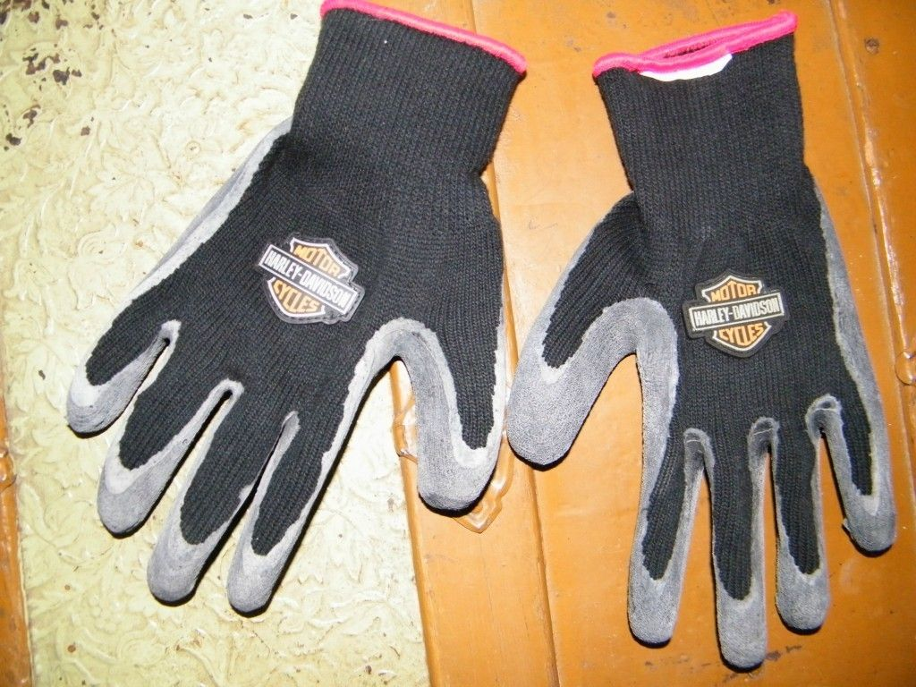 Mens Harley Davidson Gloves in Clothing,