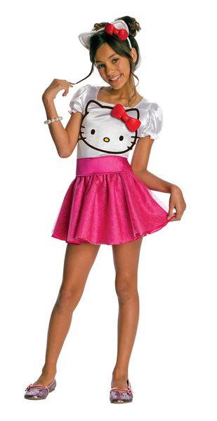 hello kitty hello kitty tutu dress child costume size large 12 14 for