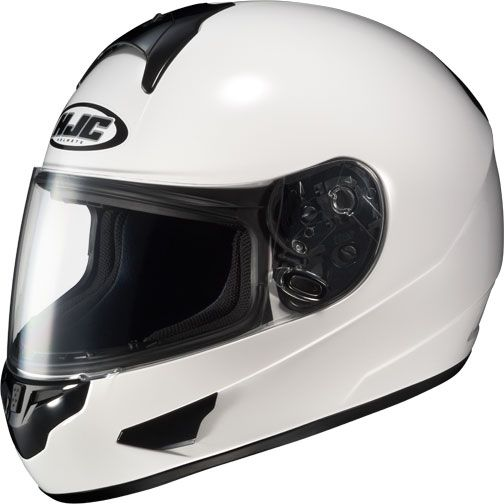 HJC CL 16 CL16 Full Face Motorcycle Helmet White XSmall