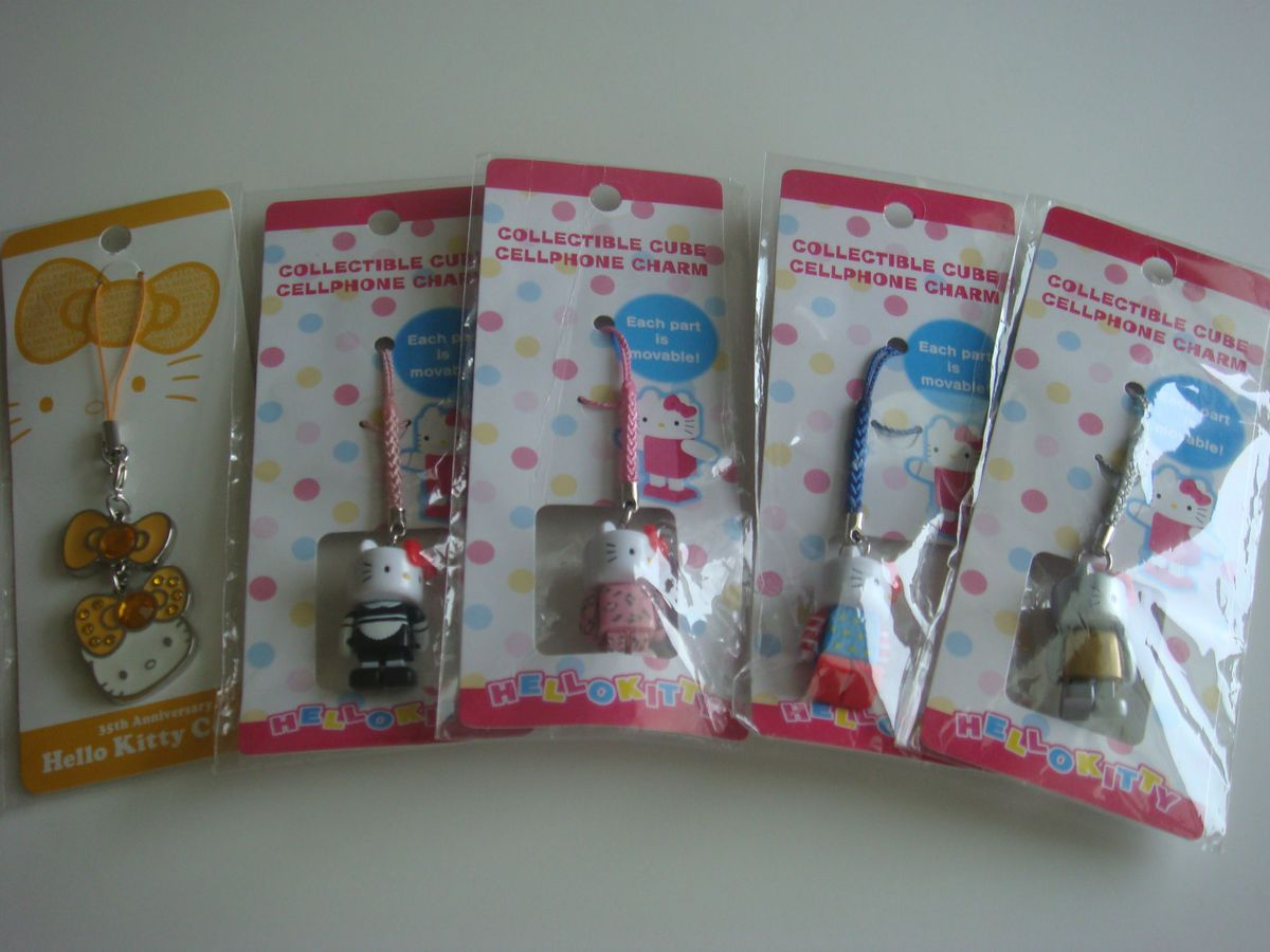 One Sanrio Hello Kitty Cellphone Charm