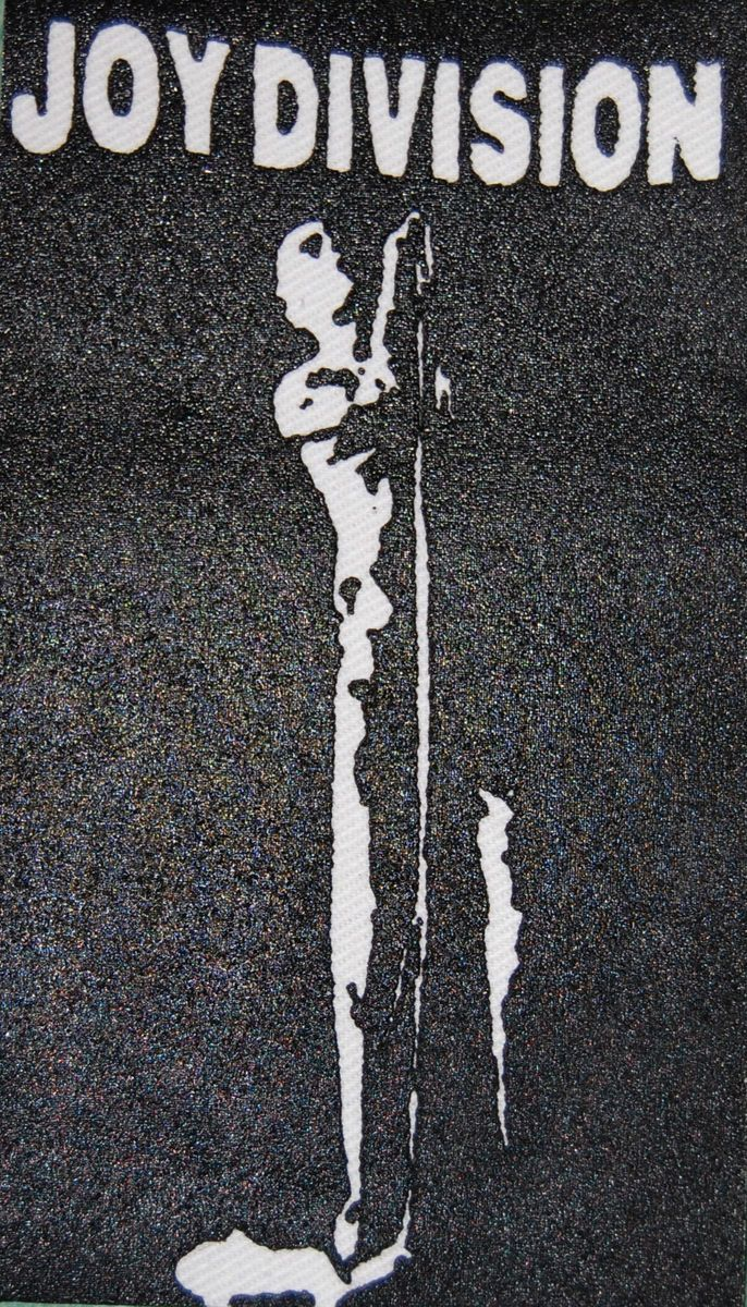 Joy Division Goth Wave Punk Batcave Ian Curtis Jacket Patch