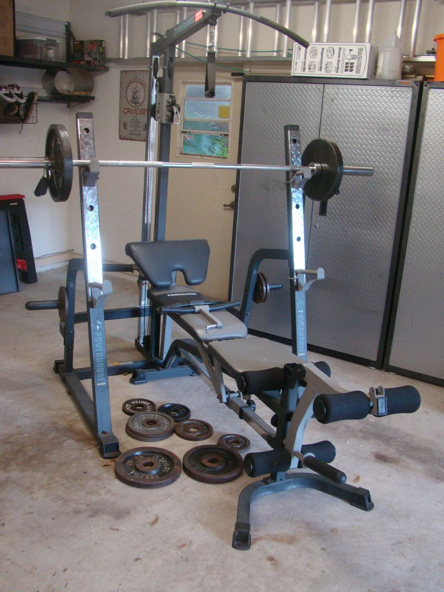 Impex powerhouse strength series phc pwr home gym weight