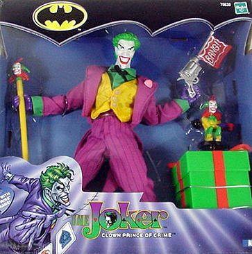 DC Comics Batman Hasbro Action Figure Joker Mego Style RARE Doll