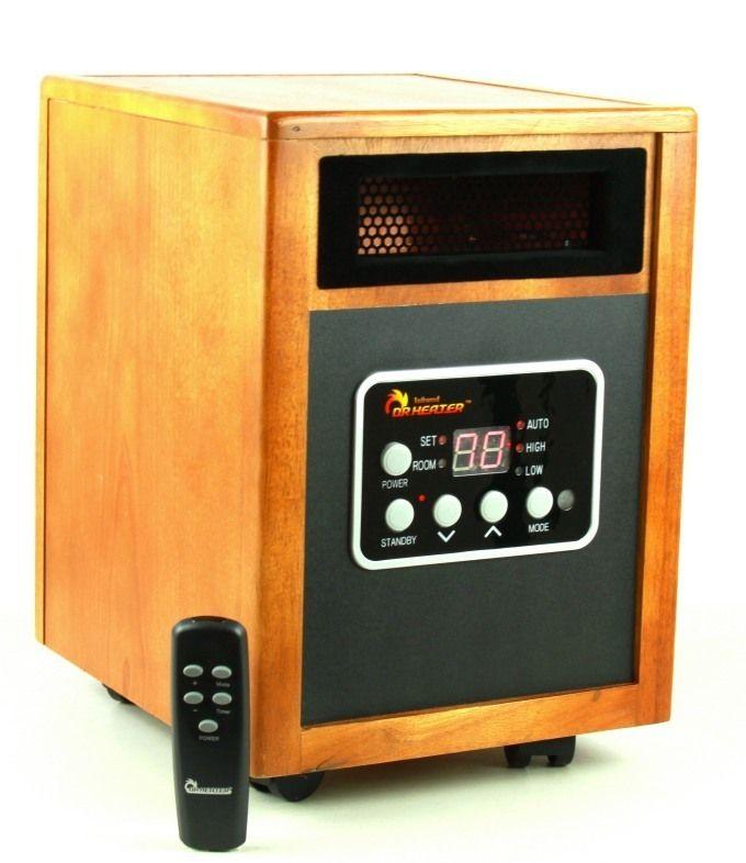 Dr Infrared Heater Dr 968 1500 Watt Quartz Portable Space Heater
