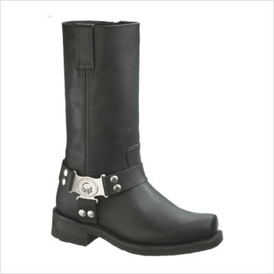 Mens Harley Davidson Iroquois Skull Boot Size 13 D91311