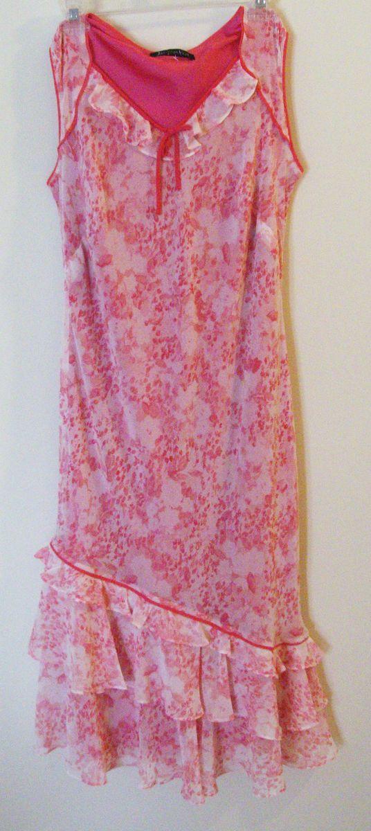 Jacques Vert Brand Summer Occasion Dress