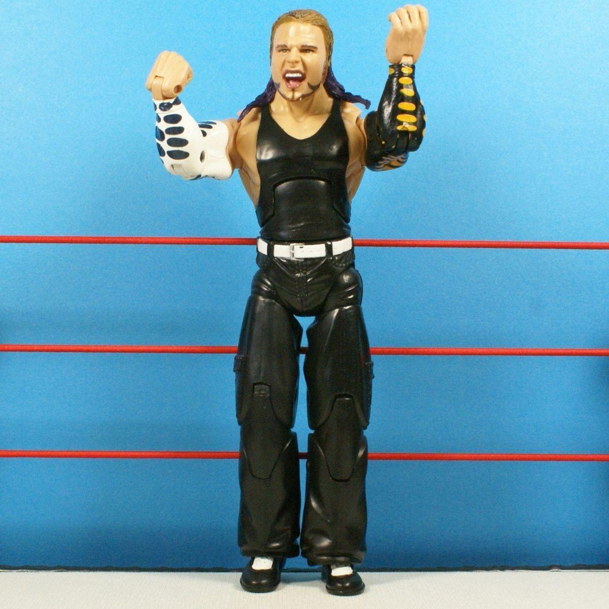 WWE Jakks Jeff Hardy Deluxe Aggression Wrestling Action Figure WWF 327