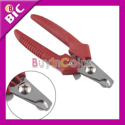 Handle Pet Dog Cat Nail Clippers Scissors Grooming 2