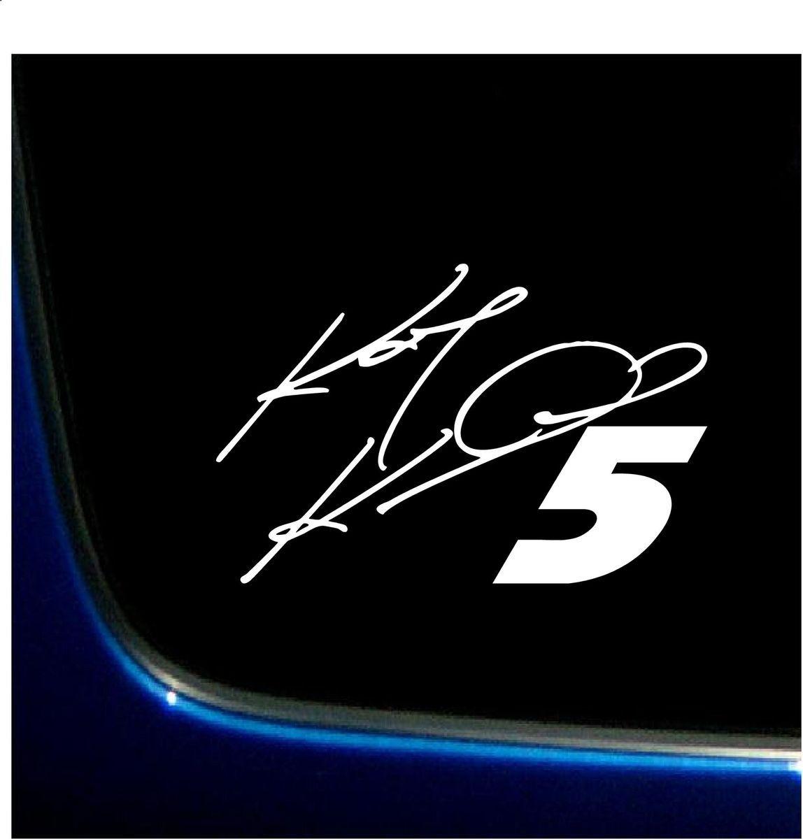 Kasey Kahne 5 Sticker Decal Vinyl Graphics 5 8 x 8 9 NASCAR