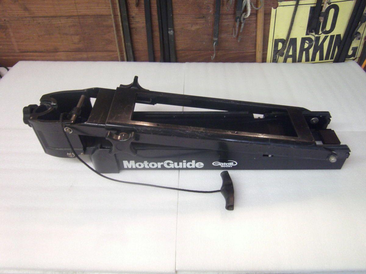 bow mount trolling motor bracket
