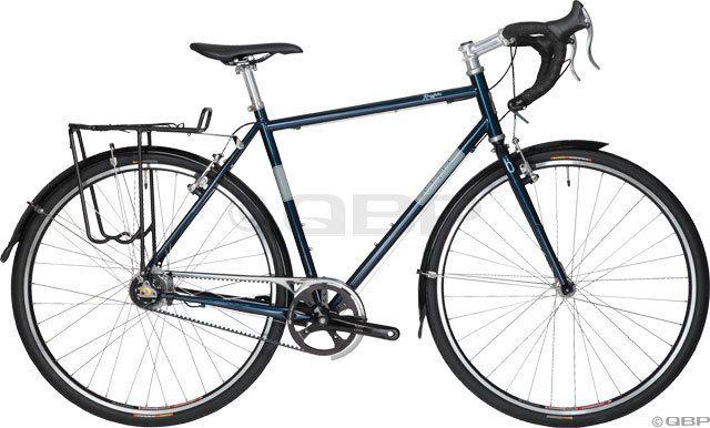 Civia Kingfield Complete Bike Belt Drive 58cm Deep Blue