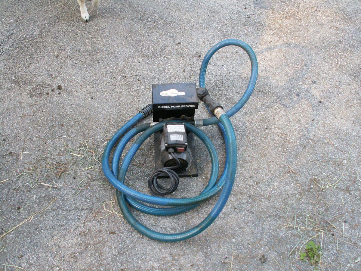 Diesel Fuel Transfer Pump 110V AC 750 Watt
