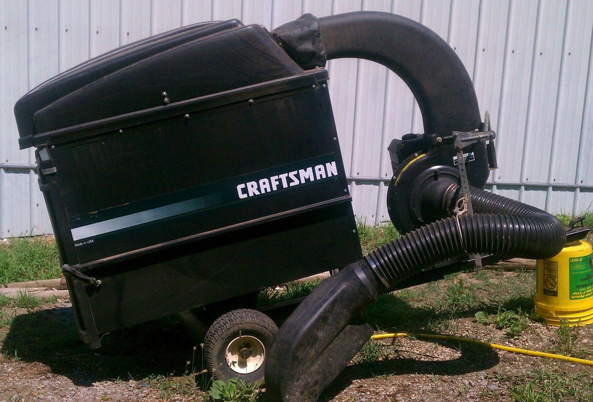 Sears Craftsman Lawn Vacuum And Chipper : Craftsman lawn vacuum autos post