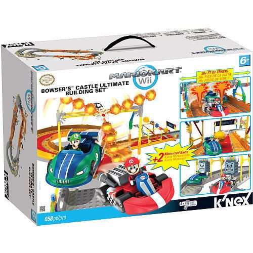 New KNEX Mario Kart Wii Ultimate Building Set Bowsers Castle