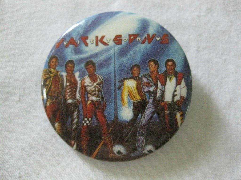 1984 Victory Tour Pin Michael Jackson™S Last Tour with The Jackson 5