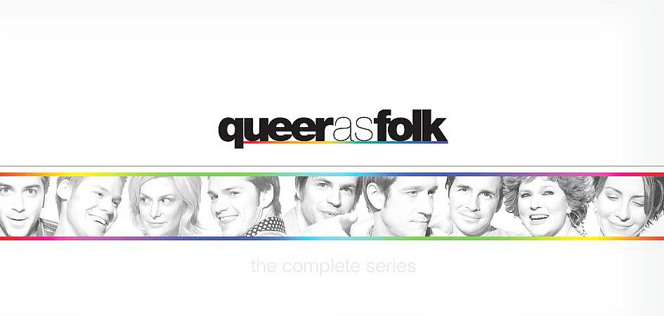 Queer as Folk The Complete Series DVD, 2007, Multiple Disc Set