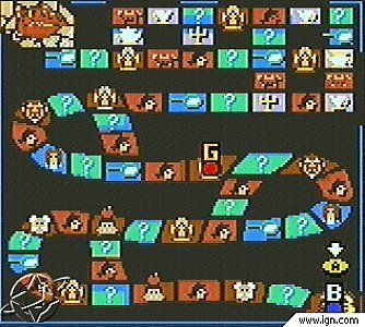 Beauty and the Beast A Board Game Adventure Nintendo Game Boy Color