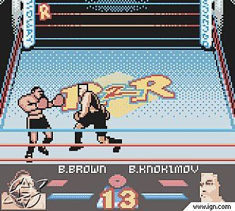 Ready 2 Rumble Boxing Nintendo Game Boy Color, 1999