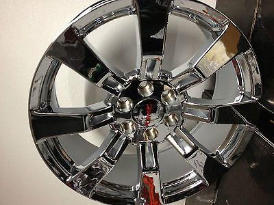 20 Inch Chrome GMC Sierra Yukon Denali Factory OE GM Accessory Wheels