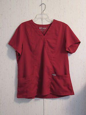 Barco Greys Anatomy Womens Size XL Scrubs Top