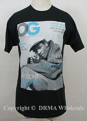 Authentic SNOOP DOG OG Original Gangsta Cover T Shirt S M L XL XXL NEW
