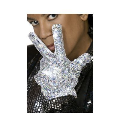 Michael Jackson Billie Jean Motown Costume Glove