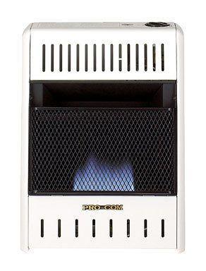 BLUE FLAME NATURAL OR PROPANE GAS HEATER 10000 BTU (Manual Control)