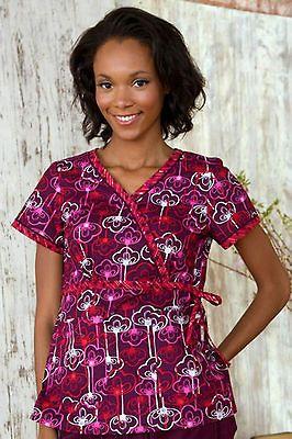 NWT Authentic Koi Medical Uniform Kathryn Style Scrub Top