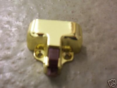 Brass Cabinet Door Catch, Starcraft RVs New Thumb Catch