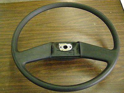 Truck Steering Wheel Black Padded 20 1984 1985 1986 1987 1988 1989