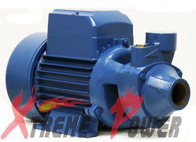 ALUMINUM 1HP ELECTRIC WATER PUMP POOL FARM POND