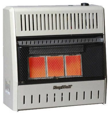 Infrared 18,000 BTU Natural Gas Vent Free Wall Heater w Thermost