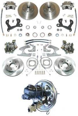 65 70 Chevy Full Size 4 wheel disc brake conversion kit (Fits Impala)